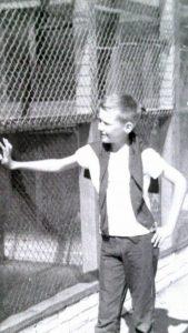 Brian McBride in 1968